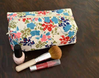 Zippered Makeup Bag