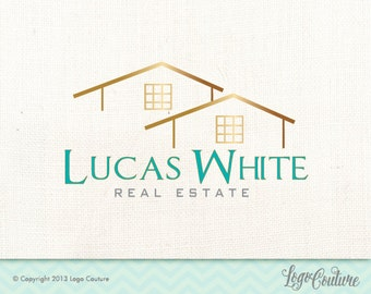 Premade Real Estate Company Logo, Real Estate Premade Logo, Real Estate Logo, House Logo, Realtor Logo, Fancy Real Estate Logo, Agent Logo