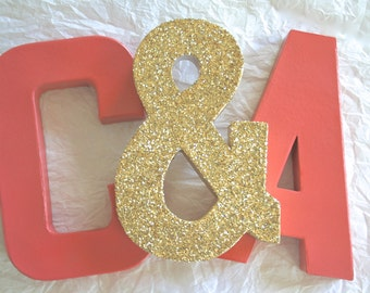 CUSTOM Letters or Numbers, Wedding or Party Decor Photo Props, Self Standing