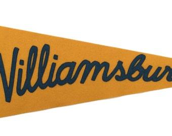 Williamsburg Pennant