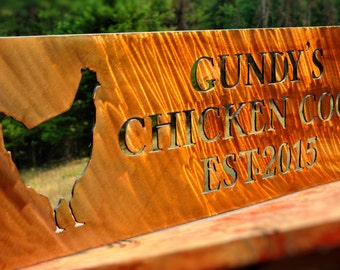 Chicken Coop Sign, Chicken Sign, Chicken Coop Decor, Roosters, Barn Sign, Chicken Palace, Hens