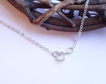 Sterling Silver Finished 18 Inch 1.5mm Flat Cable Chain with Spring Ring Closure  HB21218F18