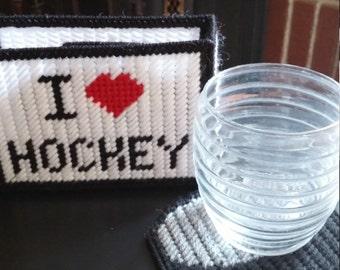 Hockey Coasters
