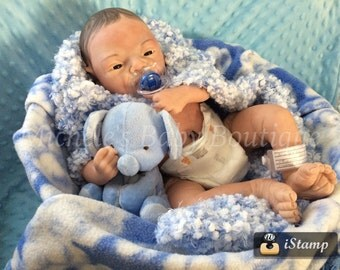 Valentine special....Baby Zion sculpt by Cheryl webber reborn by Michele Bouille
