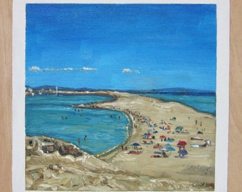 Original oil painting - Formentera
