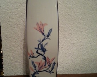 Asian Style Vase - 11 1/2 inches tall