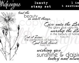 Beauty Digital Stamp Set