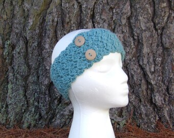 Women's Headbands - Ladies Head band - Ear warmers - Crocheted Headbands - Earmuffs - Head wrap - Headbands for Women