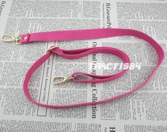 Hot Pink Adjustable Cross Body Webbing Strap for Purse Bag