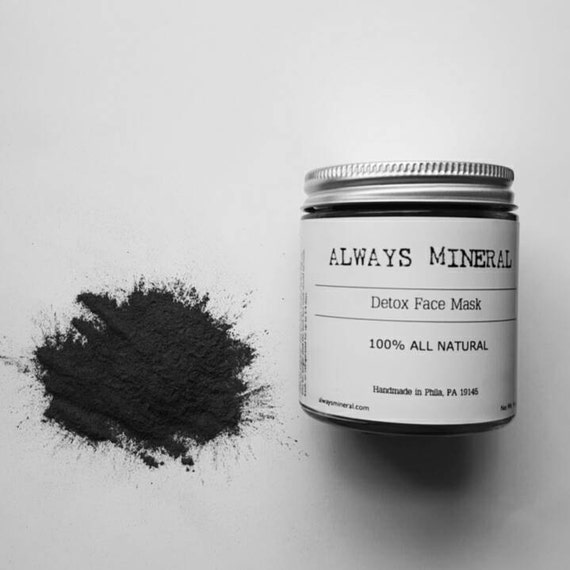 Bentonite Clay And Activated Charcoal Face Mask: Detox Face Mask. Activated Charcoal. Bentonite By