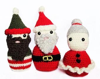 Amigurumi Father Christmas : 4 seasons: AUTUMN (toadstool, rose hip, acorn) lalylala ...