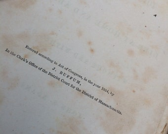 1854 book by john s adams