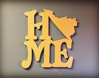 HOME STATE (Virginia), DIY, Craft, Wooden