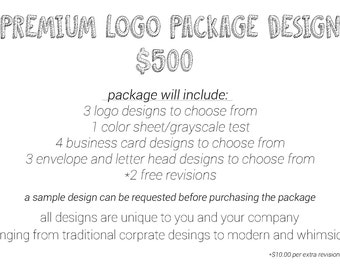 Premium Logo Package