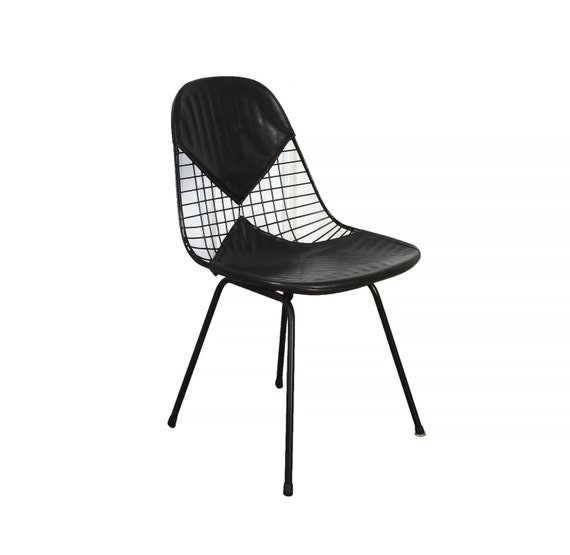 Eames Wire Chair Herman Miller Venice Ca Original Black