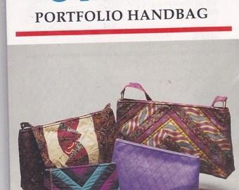 Ghee's Vintage Pattern Womens Portfolio Handbags  in  Variations UNCUT