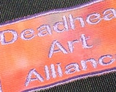 RESERVED Sumanasa Deadhead Art Alliance Sew on Patch