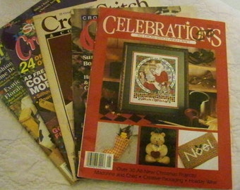 Lot Of 5 Cross-Stitch Books - 11