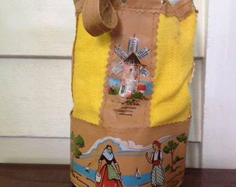Childerens folk art bag