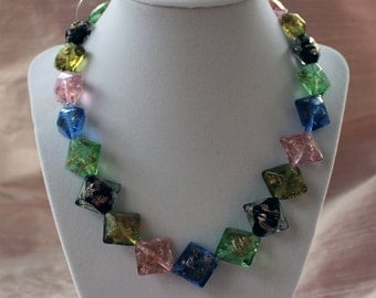 Multi Color Glass Beads