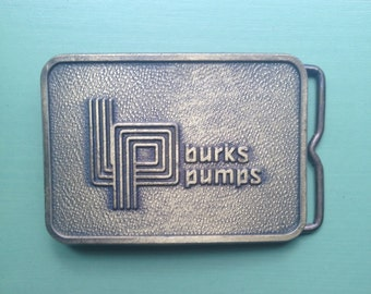 Burks Pumps Vintage Belt Buckle