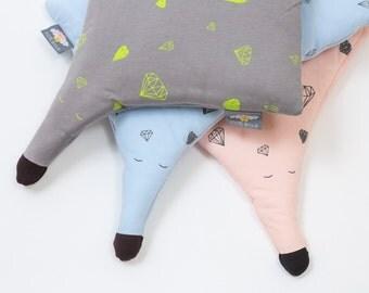 Decorative throw pillow , kids pillow , baby pillow , organic pillow