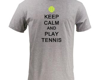 Keep Calm And Play Tennis - Sport Grey