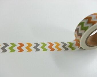 Rainbow Color Washi / Masking Tape - 10M