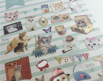 Alley Cat Sticker  - 1 Sheet