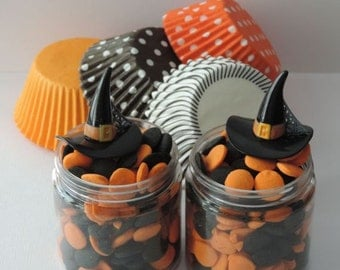 Witches Hat Cupcake Topper