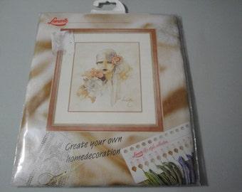 Lanarte Sara Moon Cross Stitch Kit 34430