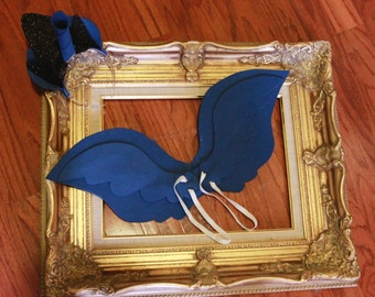 My Little Pony Princess Luna Inspired Wings, Ears, Horn, and Crown.