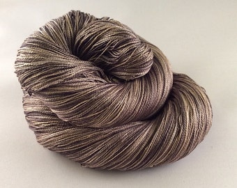 Mulberry Silk 20/2 Lace Weight - Mocha for Me Please