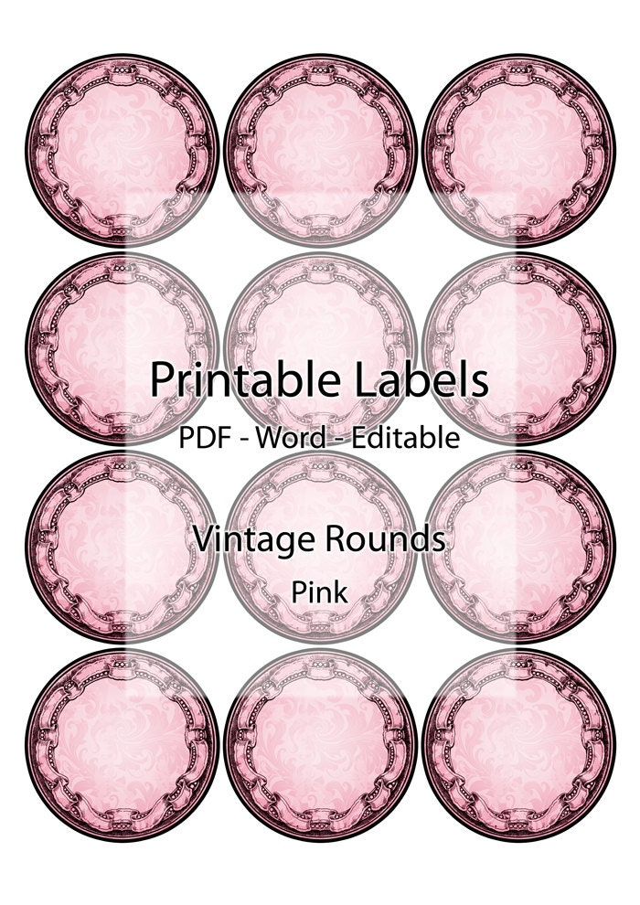 It's just a photo of Universal Printable Round Stickers
