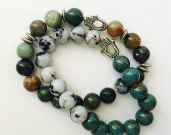 Hamsa bracelets