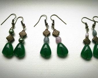 Lady Castlebeetle (Three-Pair Earring Set)