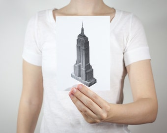 Empire State Print