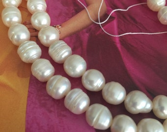 WHITE Pearl, cultured freshwater, wedding supplies, pearls supplies, Ivory pearls, white pearls (2901KS)