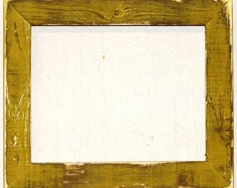 """1-1/2"""" Pale Gold Distressed Picture Frame"""