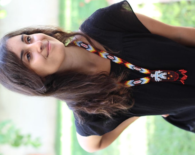 Handmade Beads Necklace.