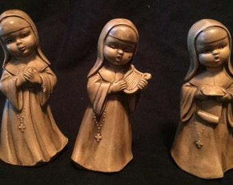 Three little singing nuns
