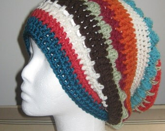 Mixstitch Slouchy Hat