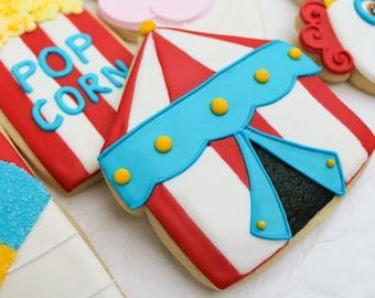 Carnival Circus Tent Cookies