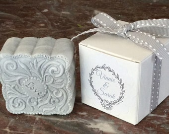 20 WEDDING FAVOURS/Baby Shower Favors/Favours/Soap Favors~Soap Favors~Christening~ Favour~New Mum~Baptism Custom Made