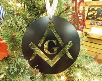 Masonic Emblem Ornament (Free Shipping)