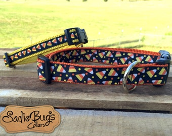 Candy Corn dog collar - Halloween