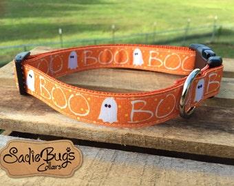 Ghost dog collar - Halloween, Boo