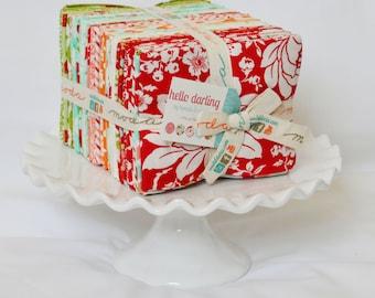 FREE SHIP Hello Darling Fat Quarter Bundle by Bonnie and Camille for Moda Fabrics