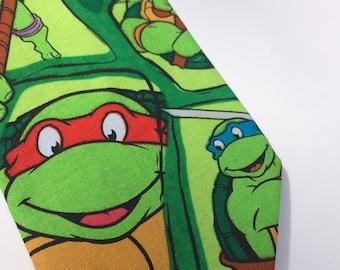 Teenage Mutant Ninja Turtles Superhero necktie