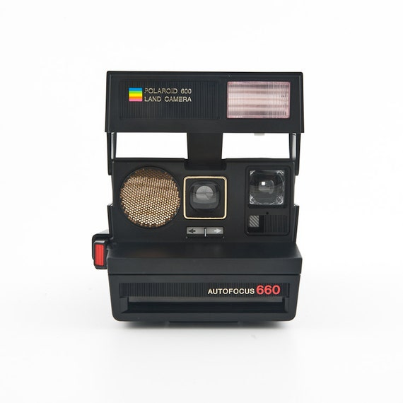 polaroid autofocus sun 660 film tested and working. Black Bedroom Furniture Sets. Home Design Ideas
